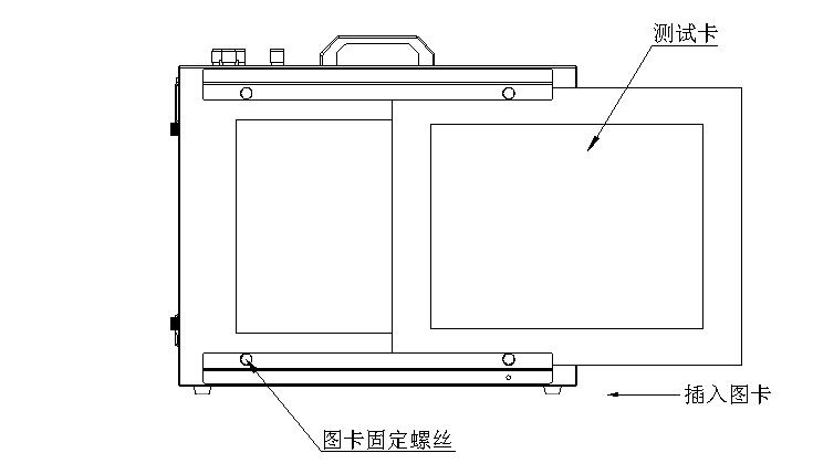 T259000高照度/可调色温透射式灯箱图卡安装