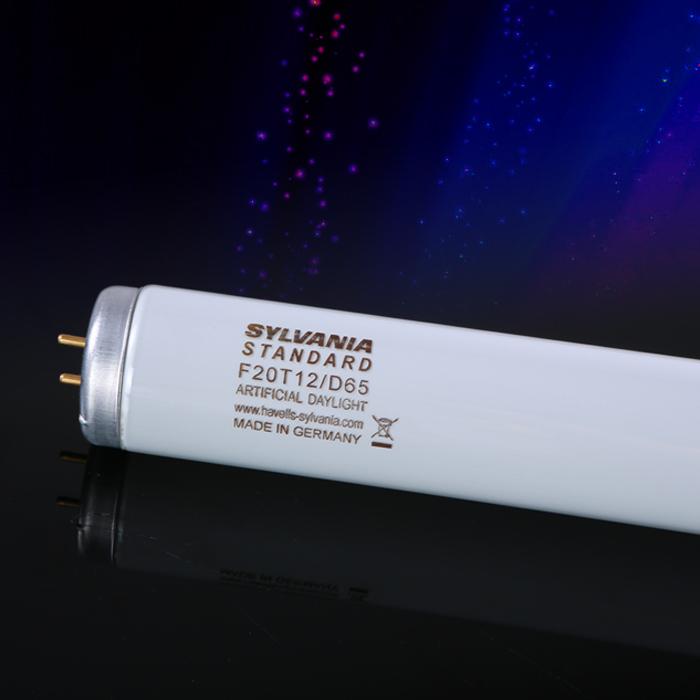 D65灯管SYLVANIA F20T12/D65